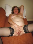 MATURE old granny amateur housewives hairy panties
