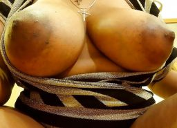 BIG BLACK TITS BOOBS KNOCKERS