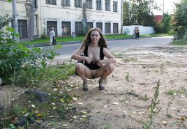 The Beauty of Amateur Russian Public Slut
