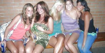 Hot babes upskirt shots