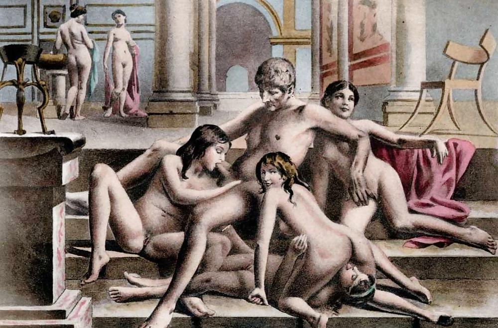 Erotic Drawings Vintage #4104193