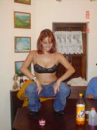 Redhead amateur and her BF having a little pleasure
