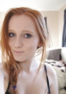 Ginger amateur teen
