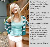 Femdom captions german part 40