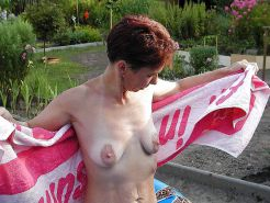 Small empty saggy breasts 4
