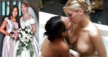 Bride & Bridesmaid have lesbian fling