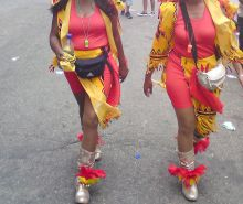 Caribbean Carnival. Pussy, Tits and butts-Part 5
