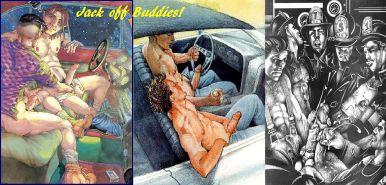 Vintage Sexuelle Cartoons
