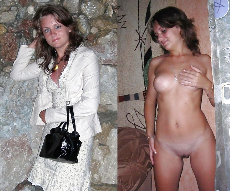 Dressed and undressed Porn Pics #4458832