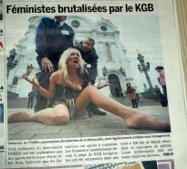 FEMEN - cool girls protest by public nudity - Part 2