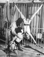 Pain pleasure sexslaves bdsm tied up taped up whipped #15503474