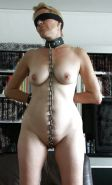Pain pleasure sexslaves bdsm tied up taped up whipped #15503511