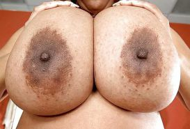 BIG BLACK TITS HUGE JUGGS BOOBS KNOCKERS