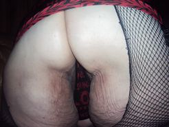 Bent over on couch wating 4 u