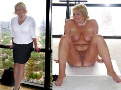 DRESSED & UNDRESSED: FULL-BODIED TEENS & MILFs Porn Pics #10580611