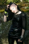 Horny Leather Gothic Bitch 001