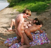 Group Sex Amateur Beach #rec Voyeur G6 #7266672