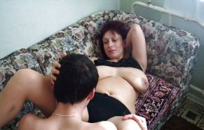 MOTHER  & SON's friend        (OLD -MATURE BBW ) #602762