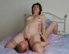 MOTHER  & SON's friend        (OLD -MATURE BBW ) #602768