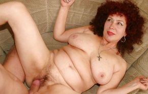 MOTHER  & SON's friend        (OLD -MATURE BBW ) #602792