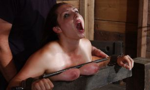 New BDSM pictures ,Breast bondage, HogTied,Slave girls #4072655