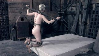 New BDSM pictures ,Breast bondage, HogTied,Slave girls #4072995