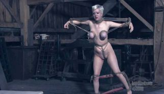 New BDSM pictures ,Breast bondage, HogTied,Slave girls #4073143