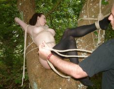 New BDSM pictures ,Breast bondage, HogTied,Slave girls #4073172