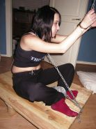 New BDSM pictures ,Breast bondage, HogTied,Slave girls #4073464