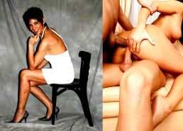 Sexy dressed undressed milf before after and bdsm