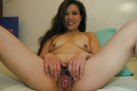 Asian mature pics 2 - Hairy, spread, riding #30511319