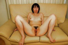 Asian mature pics 2 - Hairy, spread, riding #30511491