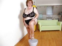 BBW chubby old women mature and grannies big boobs #35244447