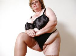 BBW chubby old women mature and grannies big boobs #35244453