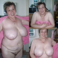 BBW chubby old women mature and grannies big boobs #35244573