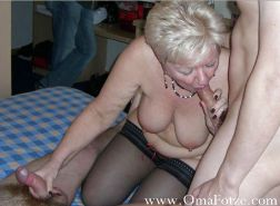 BBW chubby old women mature and grannies big boobs #35244620