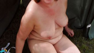 BBW chubby old women mature and grannies big boobs #35244630