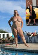 BBW chubby old women mature and grannies big boobs #35244686