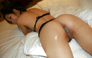 Bottomless and Hairy Creampie #26973721