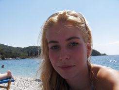 Hot Blond Teen Girl