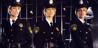 Blonde Jail guard