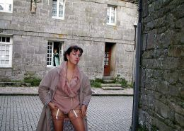 FRENCH NADINE flashing at Locronan 2002