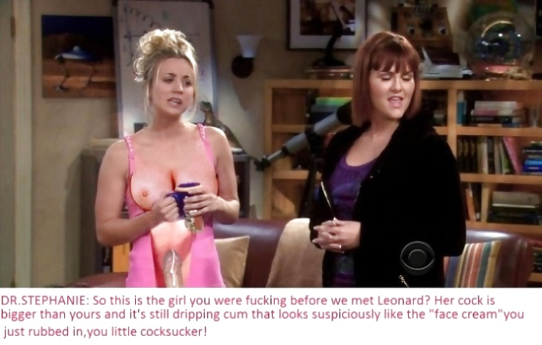 The Big Bang Theory with Kaley Cuoco as shemale #33140661