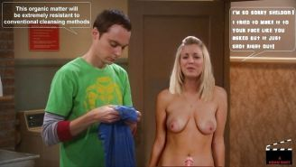 The Big Bang Theory with Kaley Cuoco as shemale #33140665