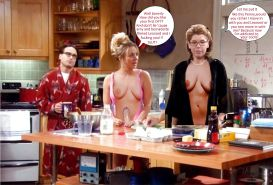 The Big Bang Theory with Kaley Cuoco as shemale #33140768
