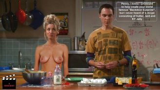 The Big Bang Theory with Kaley Cuoco as shemale #33140791