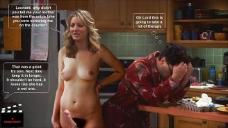 The Big Bang Theory with Kaley Cuoco as shemale #33140794