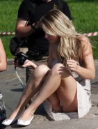 Upskirt, Flashing, candid images from girls and matures #27623008