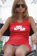 Upskirt, Flashing, candid images from girls and matures #27623371