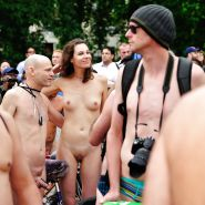 Wonders of the World Naked Bike Ride #38689075
